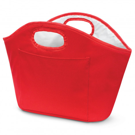 Printed Red Festive Ice Bucket Cooler Bags in Perth