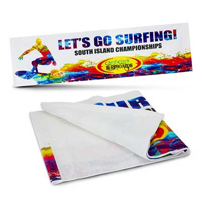 Printed Marathon Sports Towels in Perth Australia