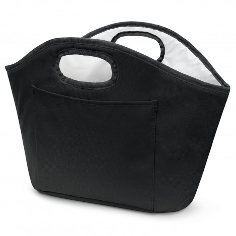 Printed Black Festive Ice Bucket Cooler Bags in Perth