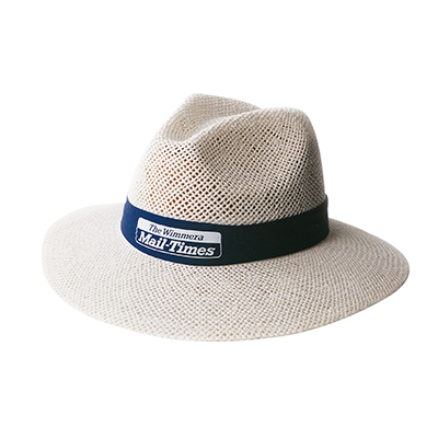 Custom Printed Madrid Style String Straw Hats in Perth Australia