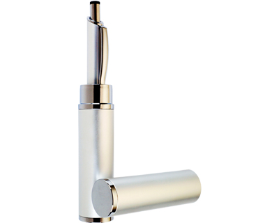 Custom Aluminum Pen Tube Silver in Perth