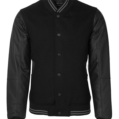 Buy Online Art Leather Baseball Jacket in Australia