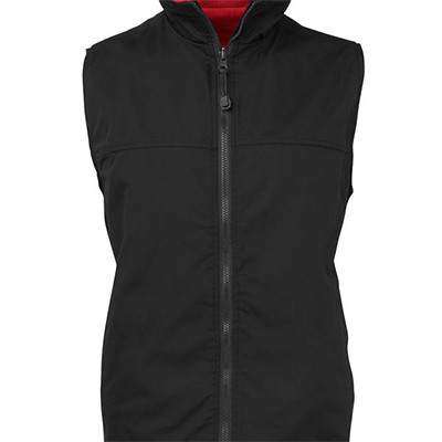 Custom Made Reversible Vest Fleecys in Perth