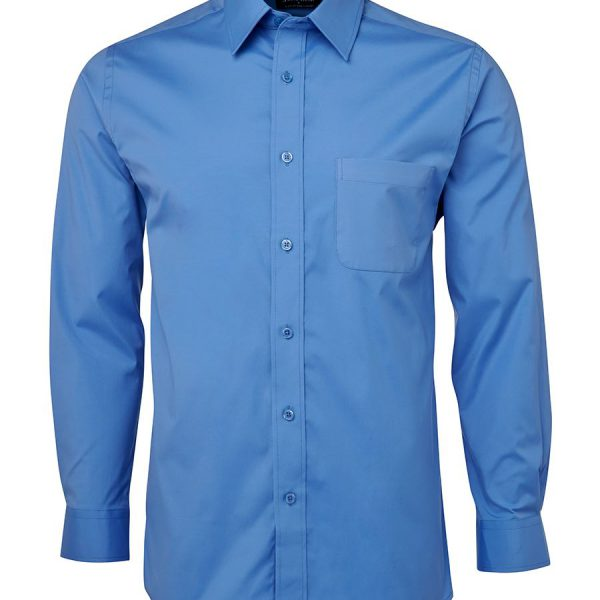 Printed Blue Urban L/S Poplin Shirts in Perth