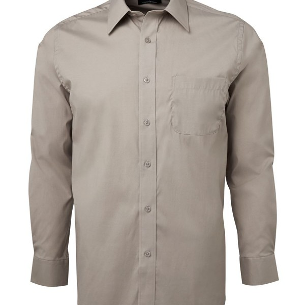 Promotional Gray Urban L/S Poplin Shirts Online in Perth
