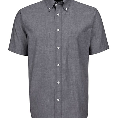 Custom Blue Fine Chambray Shirt in Australia