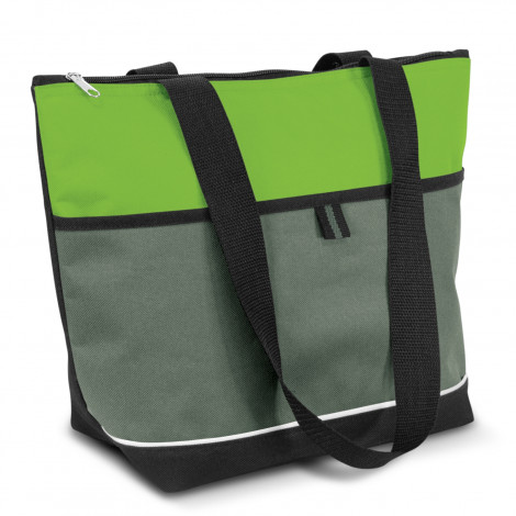Custom Printed Green Diego Lunch Cooler Bags in Perth