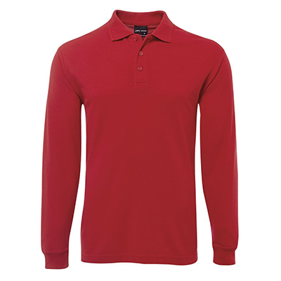 Buy Custom Red Adults Polos in Perth