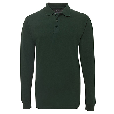 Custom Personalised Green Adults Polos in Australia
