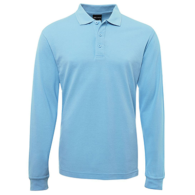 Custom Printed Blue Adults Polos in Perth
