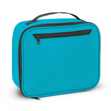 Custom Printed Light Blue Zest Lunch Cooler Bags in Perth