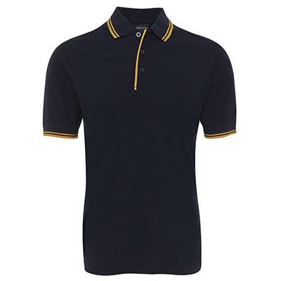 Promotional Corparate Custom Printed Apparels Polos Adults Shirts CONTRAST POLO - 2CP JB's Perth Australia
