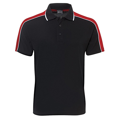Promotional Corparate Custom Printed Apparels Polos Adults Shirts SLEEVE PANEL POLO - 2CSP JB's Perth Australia