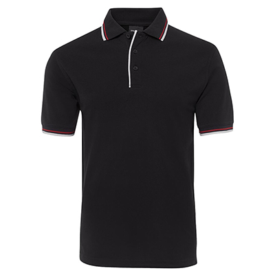Promotional Corparate Custom Printed Apparels Polos Adults Shirts DOUBLE CONTRAST POLO - 2DC Perth Australia