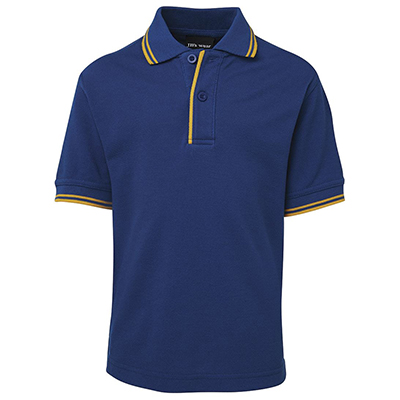 Promotional Corparate Custom Printed Apparels Polos Kids KIDS CONTRAST POLO - 2KCP Perth Australia