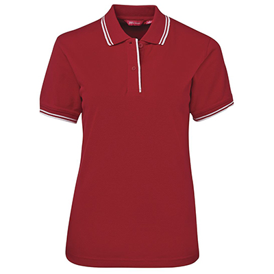 Promotional Corparate Custom Printed Apparels Polos Ladies LADIES CONTRAST POLO - 2LCP Perth Australia
