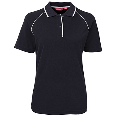 Promotional Corparate Custom Printed Apparels Polos Ladies LADIES RAGLAN POLO - 2LRP Perth Australia