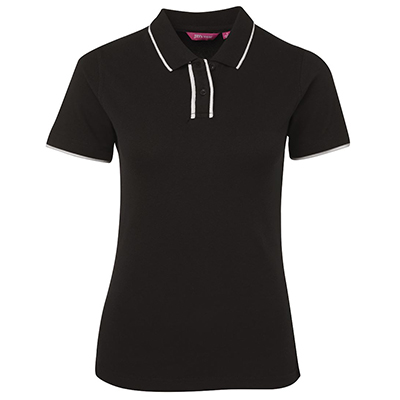 Promotional Corparate Custom Printed Apparels Polos Ladies LADIES TWIN PIPE POLO - 2TPP1 JB's Perth Australia