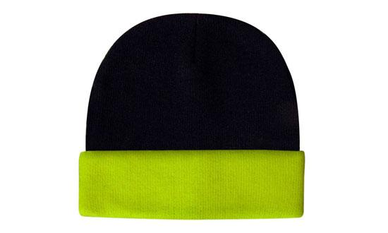 Bags Headwears Luminescent Safety Hats and Caps Luminescent Safety Acrylic Beanie - Toque - 3027 Perth Australia
