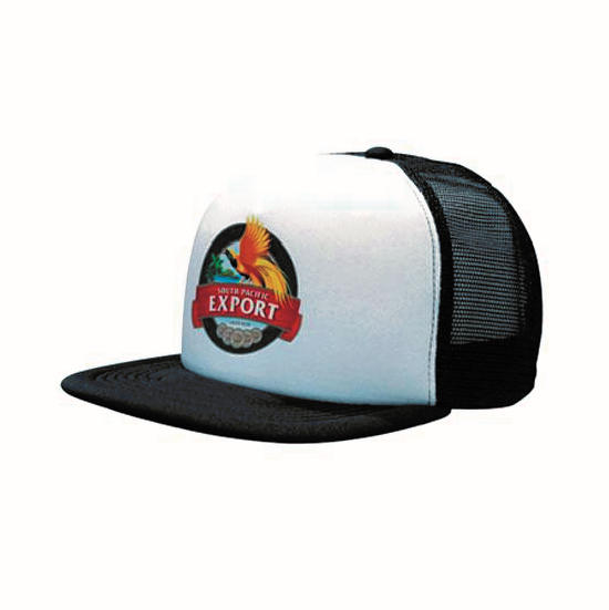 Bags Headwears Cotton and Other Fabrics Trucker Mesh Cap With Flat Peak - 3806 Perth Australia