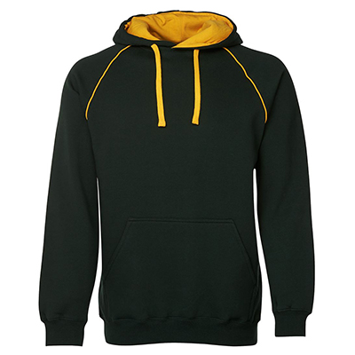 Personalised Contrast Fleecy Hoodie in Australia