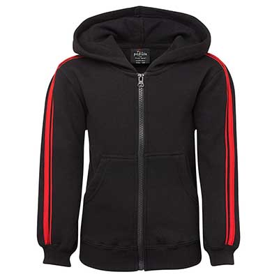 Buy PDM P/C Dual Stripe f/zip Hoodie Online in Perth