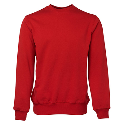Custom Made Red Fleecy Sweat in Perth