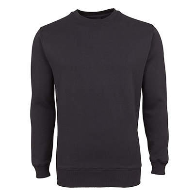 Promotional Black Fleecy Sweat in Perth