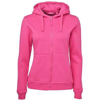 Apparels Outwears Winter FLEECYS Ladies LADIES FULL ZIP FLEECY HOODIE - 3HJ1 Perth Australia