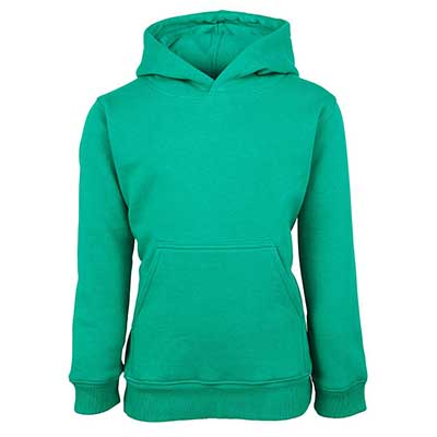 Custom Light green Kids Fleecy Hoodie in Perth