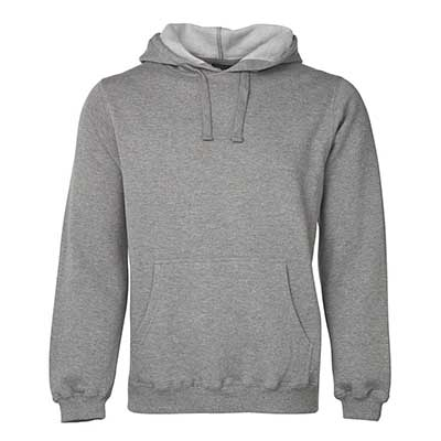 Personalised Gray P/C Pop Over Hoodie in Australia