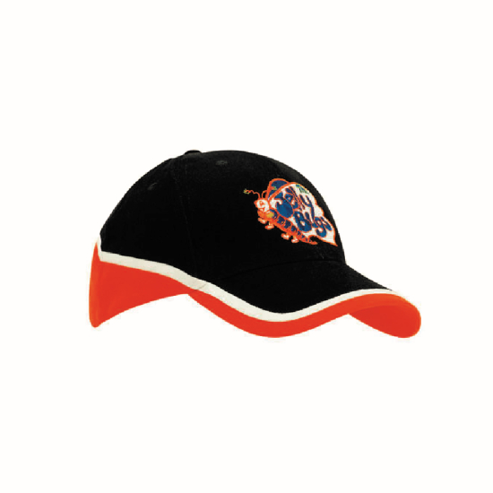 Bags Headwears Brushed Cotton Caps Brushed Heavy Cotton Tri-Coloured Cap - 4026 Perth Australia