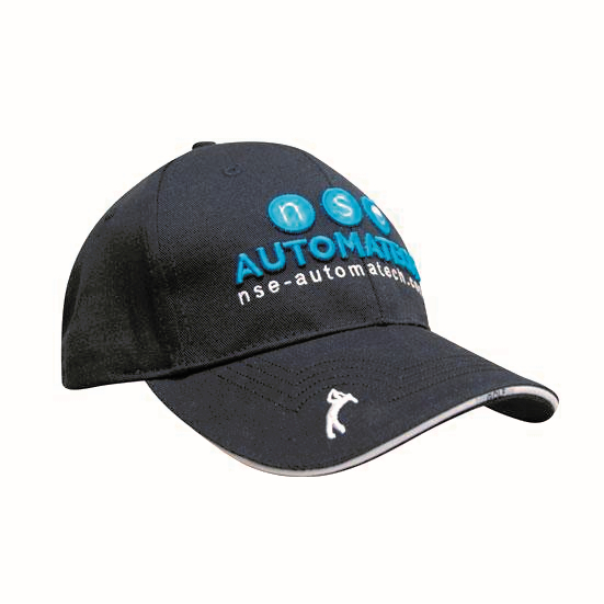Promotional Corparate Custom Printed Bags Headwears Golf Caps Chino Twill with Peak Embroidery - 4118 Perth Australia