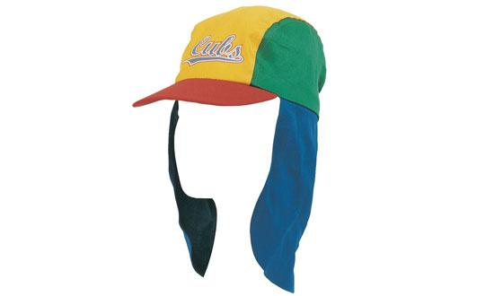 Bags Headwears Infants and Children Child's Cotton Legionnaire's Cap - 4127 Perth Australia