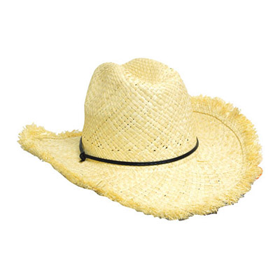 Frayed Edge Cowboy Straw