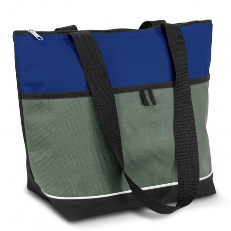 Printed Drak Blue Diego Lunch Cooler Bags in Perth