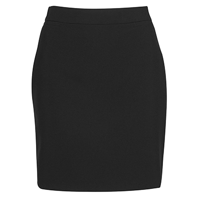 Promotional Corparate Custom Printed Apparels Corporate SKIRTS LADIES MECH STRETCH SHORT SKIRT - 4NMSS Perth Australia