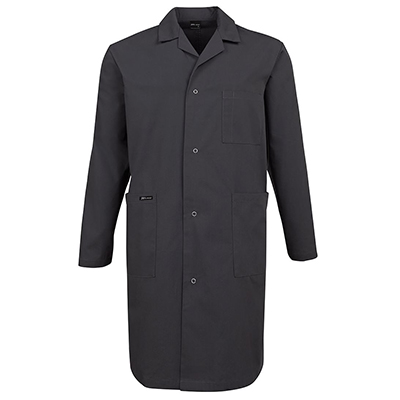 Custom Made Food Industry Dust Black Coats in Perth
