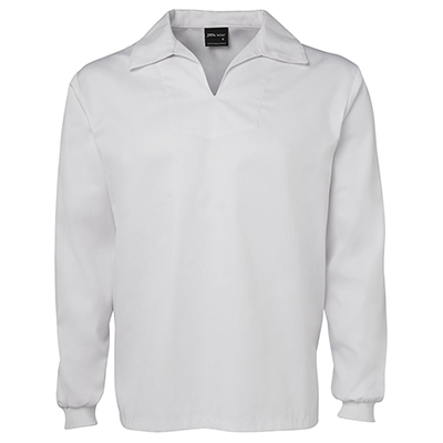 Custom JB's Food Tunic L/S White Coats in Perth