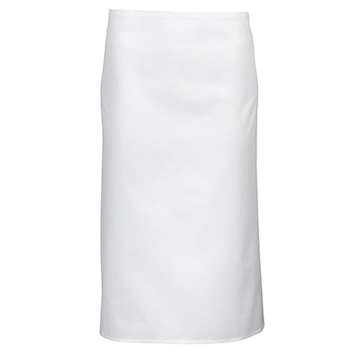 Personalised White Apron Without Pocket in Australia