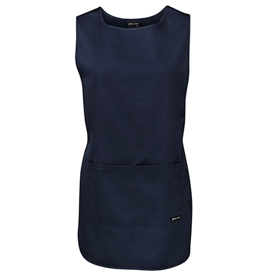 Custom Made Navy Ladies Smock Aprons in Perth