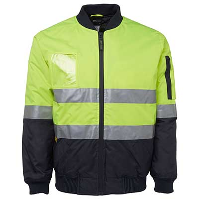 Hi Vis (D N) Flying Jacket - 6DNFJ