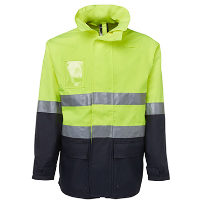 Apparels HI VIS Tradewear JACKETS-VESTS ADULTS Hi Vis (D+N) Long Line Jacket - 6DNLL Perth Australia