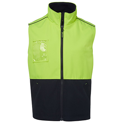 Promotional Corparate Custom Printed Apparels HI VIS Tradewear JACKETS-VESTS ADULTS HV A.T. VEST - 6HVAV Perth Australia