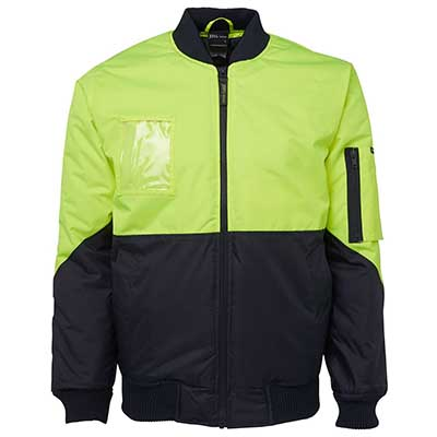 Apparels HI VIS Tradewear JACKETS-VESTS ADULTS Hi Vis Flying Jacket - 6HVFJ Perth Australia