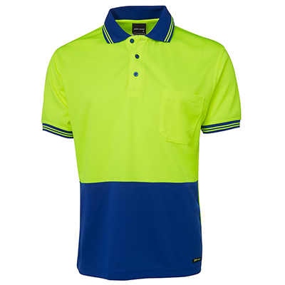 Apparels HI VIS Tradewear POLOS Adults HI VIS S/S TRADITIONAL POLO - 6HVPS Perth Australia