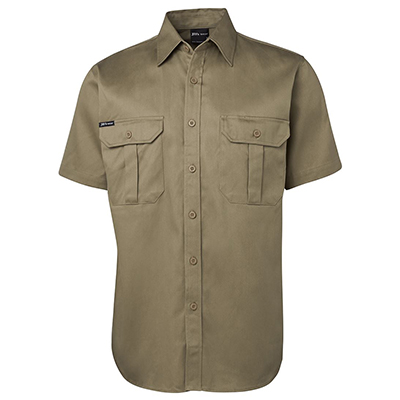 Apparels Traditional Workwear SHIRTS WW SHIRTS WORK SHIRT - 6WSS S/S 190G Perth Australia