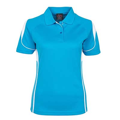 Promotional Corparate Custom Printed Apparels Polos Ladies PODIUM LADIES BELL POLO - 7BEL1 Perth Australia