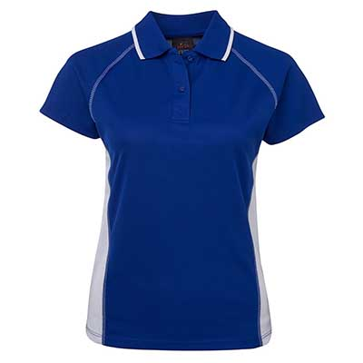 Promotional Corparate Custom Printed Apparels Polos Ladies PODIUM LADIES COVER POLO - 7COV1 Perth Australia