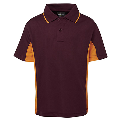 Promotional Corparate Custom Printed Apparels Polos Kids Kids Contrast Polo - 7PP3 Perth Australia